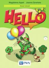 Hello! 1 Zeszyt ćwiczeń Szkoła podstawowa - Appel Magdalena, Zarańska Joanna | mała okładka