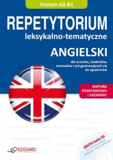 Angielski Repetytorium leksykalno-tematyczne z płytą CD -  | mała okładka