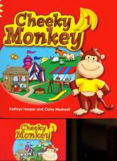 Cheeky Monkey 1 Pupil's Book with Multi-ROM - Harper Kathryn, Medwell Claire   mała okładka