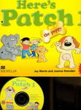 Here's Patch the Puppy 1 + CD - Morris Joy, Ramsden Joanne | mała okładka