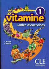 Vitamine 1 Ćwiczenia + CD szkoła podstawowa - Martin C., Pastor D. | mała okładka