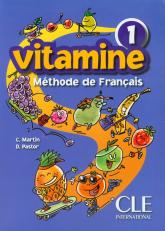 Vitamine 1 Podręcznik szkoła podstawowa - Martin C., Pastor D. | mała okładka