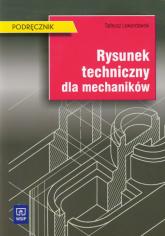 Rysunek techniczny dla mechaników Podręcznik - Tadeusz Lewandowski   mała okładka