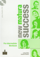 New Matura Success Pre-Intermediate Workbook + CD - White Lindsay, Chandler Dominika | mała okładka