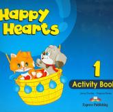 Happy Hearts 1 Activity Book - Dooley Jenny, Evans Virginia | mała okładka