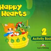 Happy Hearts 2 Activity Book - Dooley Jenny, Evans Virginia | mała okładka