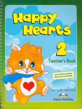 Happy Hearts 2 Teacher's Book - Dooley Jenny, Evans Virginia | mała okładka