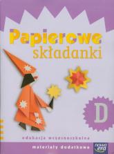 Szkoła na miarę Papierowe składanki D Materiały dodatkowe edukacja wczesnoszkolna - Dorota Dziamska | mała okładka