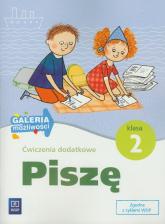 Ćwiczenia dodatkowe Piszę 2 Szkoła podstawowa - Marzanna Krajewska   mała okładka