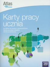 Wiedza o społeczeństwie Karty pracy ucznia do Atlasu do wiedzy o społeczeństwie Zakres podstawowy Szkoły ponadgimnazjalne - Chybowski Włodzimierz, Ostrowska Joanna | mała okładka