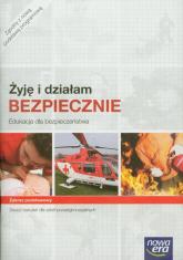 Żyję i działam bezpiecznie Edukacja dla bezpieczeństwa Zeszyt ćwiczeń Zakres podstawowy szkoła ponadgimnazjalna - Jarosław Słoma | mała okładka