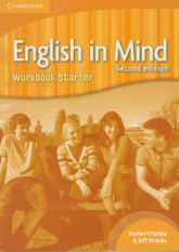English in Mind Starter Workbook - Puchta Herbert, Stranks Jeff | mała okładka
