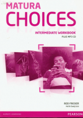 Matura Choices Intermediate Workbook + CDMP - Fricker Rod, Święcicki Piotr | mała okładka