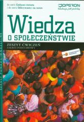 Wiedza o społeczeństwie Zeszyt ćwiczeń Zakres podstawowy szkoła ponadgimnazjalna - Telicka-Bonecka Antonina, Bonecki Jarosław   mała okładka