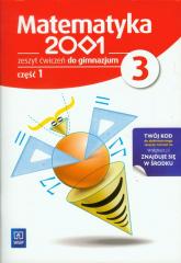 Matematyka 2001 3 Zeszyt ćwiczeń część 1 gimnazjum - zbiorowa Praca | mała okładka