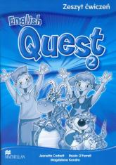 English Quest 2 Zeszyt ćwiczeń szkoła podstawowa - Corbett Jeanette, O'Farrell Roisin, Kondro Magdalena | mała okładka