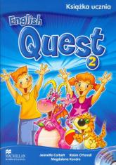 English Quest 2 Książka ucznia + 2CD szkoła podstawowa - Corbett Jeanette, O'Farrell Roisin, Kondro Ma | mała okładka