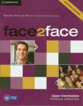 face2face Upper Intermediate Workbook without Key - Tims Nicholas, Bell Jan | mała okładka