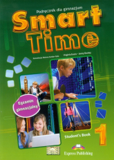 Smart Time 1 Język angielski  Podręcznik Gimnazjum - Evans Virginia, Dooley Jenny | mała okładka