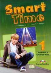 Smart Time 1 Język angielski Workbook and Grammar Book Gimnazjum - Evans Virginia, Dooley Jenny | mała okładka