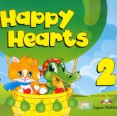 Happy Hearts 2 Pupil's Book z płytą CD - Dooley Jenny, Evans Virginia | mała okładka