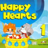 Happy Hearts 1 Pupil's Book z płytą CD - Dooley Jenny Evans Virginia | mała okładka