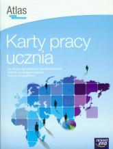 Wiedza o społeczeństwie Atlas Karty pracy ucznia Zakres rozszerzony Szkoła ponadgimnazjalna - Furman Barbara, Ostrowska Joanna | mała okładka
