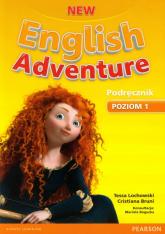 New English Adventure 1 Podręcznik z płytą DVD - Lochowski Tessa, Bruni Cristiana   mała okładka