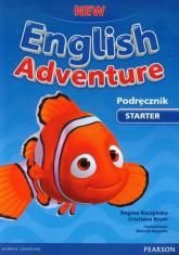 New English Adventure Starter Podręcznik z płytą DVD - Bruni Cristiana, Raczyńska Regina | mała okładka