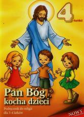 Pan Bóg kocha dzieci 3-4 lata Podręcznik -  | mała okładka