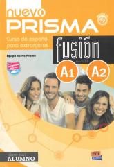 Nuevo Prisma fusion A1+A2 Podręcznik -  | mała okładka