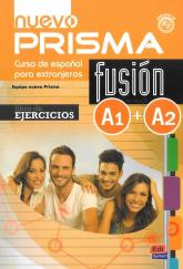 Nuevo Prisma fusion A1+A2 Ćwiczenia -  | mała okładka