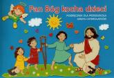Pan Bóg kocha dzieci Czterolatki Podręcznik Przedszkole -  | mała okładka