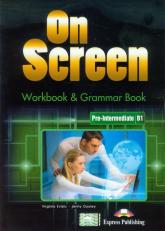 On Screen Pre-Intermediate B1 Workbook - Evans Virginia, Dooley Jenny | mała okładka