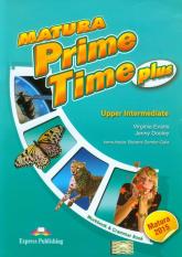 Matura Prime Time Plus Upper Intermediate Workbook and Grammar Book Szkoła ponadgimnazjalna - Evans Virginia, Dooley Jenny | mała okładka