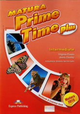 Matura Prime Time Plus Intermediate Workbook Grammar Book - Evans Virginia, Dooley Jenny | mała okładka