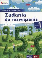 Owocna edukacja 1 Zadania do rozwiązania Edukacja wczesnoszkolna - Andrzej Pustuła   mała okładka