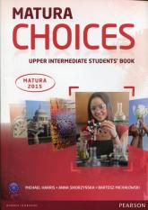 Matura Choices Upper Intermadiate Student's Book - Harris Michael, Sikorzyńska Anna, Michałowski Bartosz | mała okładka