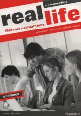Real Life Pre-Intermediate Workbook +CD Szkoły ponadgimnazjalne - Reilly Patricia, Dawson Retta, Chandler Dominika | mała okładka