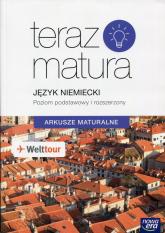 Teraz matura Język niemiecki Arkusze maturalne Poziom podstawowy i rozszerzony -  | mała okładka