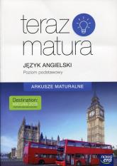 Teraz matura Język angielski Arkusze maturalne Poziom podstawowy -  | mała okładka