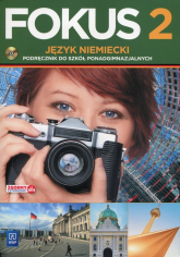 Fokus 2 Język niemiecki Podręcznik z płytą CD Zakres podstawowy Szkoła ponadgimnazjalna - Anna Kryczyńska-Pham | mała okładka