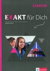 Exakt fur Dich Starter Książka ćwiczeń z płytą DVD + Zestaw ćwiczeń do filmów Szkoła ponadgimnazjalna -  | mała okładka