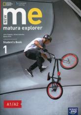 New Matura Explorer 1 Student's Book Szkoła ponadgimnazjalna Poziom A1/A2 - Hughes John, Łubecka Alina, Polit Beata | mała okładka