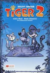 Tiger 2 Zeszyt ćwiczeń Szkoła podstawowa, do podręcznika wieloletniego -  | mała okładka