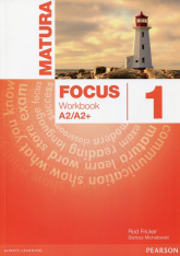 Matura Focus 1 Workbook - Kay Sue, Jones Vaughan, Braysh | mała okładka