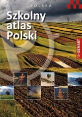 Szkolny atlas Polski -  | mała okładka