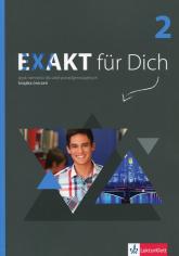 Exakt fur Dich 2 Książka ćwiczeń z płytą DVD Szkoła ponadgimnazjalna -  | mała okładka
