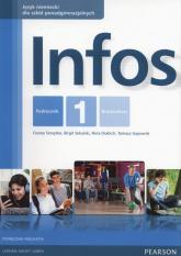 Infos 1 Podręcznik wieloletni + CD Szkoły ponadgimnazjalne - Serzysko Cezary,  Sekulski Birgit | mała okładka
