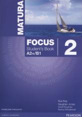 Matura Focus 2 Students Book wieloletni + CD Szkoły ponadgimnazjalne - Kay Sue, Jones Vaughan, Brayshaw Daniel | mała okładka